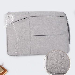 Túi chống sốc 2 ngăn 3 túi phụ cho laptop, Macbook Oz25
