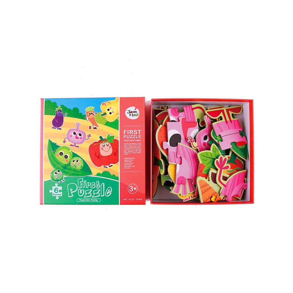 Bộ Ghép Hình Pirst Puzzle 3+ Joan Miró - Rau Củ Quả