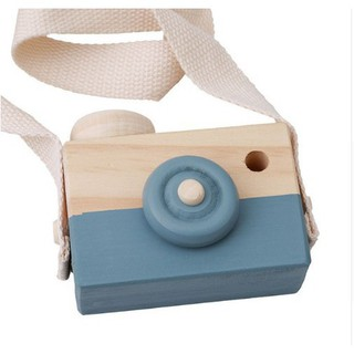 NEWWooden Camera Toys Cute Children Handmade Creative Photo Decorative Ornaments