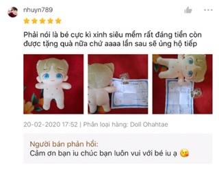 Doll Ohahtae fansite Con Bố Taehyung Tặng Kèm Quà 8