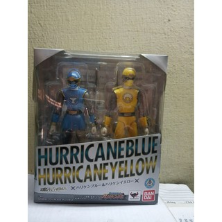 Mô hình SHF Super Sentai – SHF Hurricane Blue & Yellow (like new)