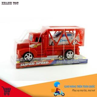 [KHUYẾN MÃI KHỦNG] Bộ xe ô tô kéo và 1 xe ô tô con cho bé yêu thỏa sức vui đùa chính hãng
