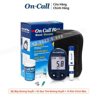 Máy Đo Đường Huyết Acon On Call Plus + Tặng Lọ 25 Que Thử ( Bảo Hành Trọn Đời ) thumbnail