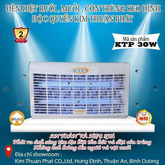 Đèn diệt côn trùng KTP-30W - 22599531 , 5908730736 , 322_5908730736 , 1800000 , Den-diet-con-trung-KTP-30W-322_5908730736 , shopee.vn , Đèn diệt côn trùng KTP-30W