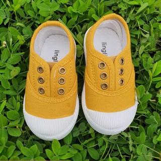 Giày Lười Cho Bé💖FREESHIP💖 Giày Lười Cho Bé Trai Bé Gái Màu Vàng Dễ Thương Hàng Cao Cấp Đế Cao Su Mềm 20262