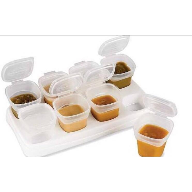 Ninikids: Bộ 8 hộp trữ thức ăn