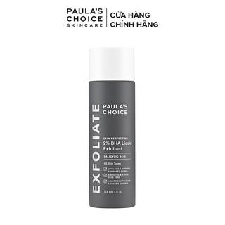 Hình ảnh Dung dịch loại bỏ tế bào chết Paula's Choice Skin Perfecting 2% BHA Liquid Exfoliant 118 ml Mã 2010-0