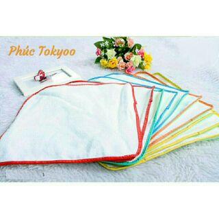 Tấm lót chống thấm cho bé Đô Rê Mon loại dày giặt máy (Sét 10 miếng)