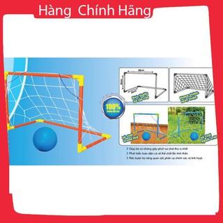 Khung thành bóng đá mini kèm bóng cho bé, kt: 58x38x25cm_Hàng chất lượng cao
