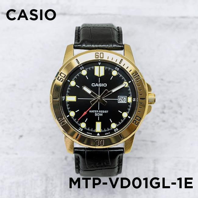 Đồng hồ Nam dây da Casio MTP-VD01 chính hãng bảo hành 1 năm Pin trọn đời
