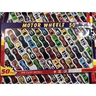 Sét 50 ô tô đồ chơi cho bé