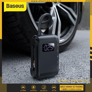 Máy bơm hơi, bơm lốp đa năng cầm tay Baseus Dynamic Eye Inflator Pump thumbnail