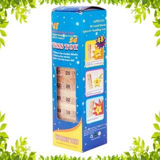 Xả Kho 3 Ngày- Bộ đồ chơi rút gỗ 54 thanh mini [b.b]