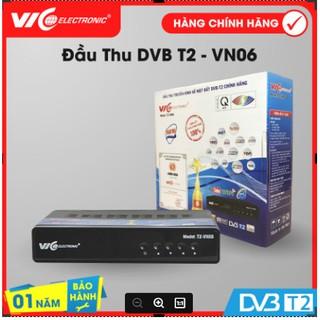 Đầu thu kỹ thuật số mặt đất DVB-T2, Model VN06, VIC Electronic, bảo hành 12 tháng