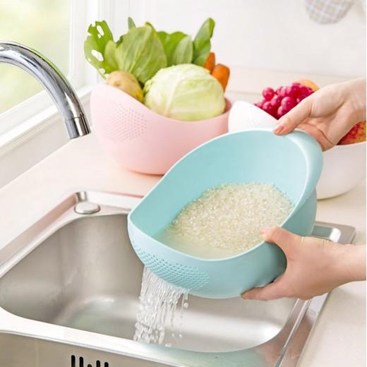 Rổ Vo Gạo, Đậu, Rửa Rau Quả Đa Năng Size Nhỏ