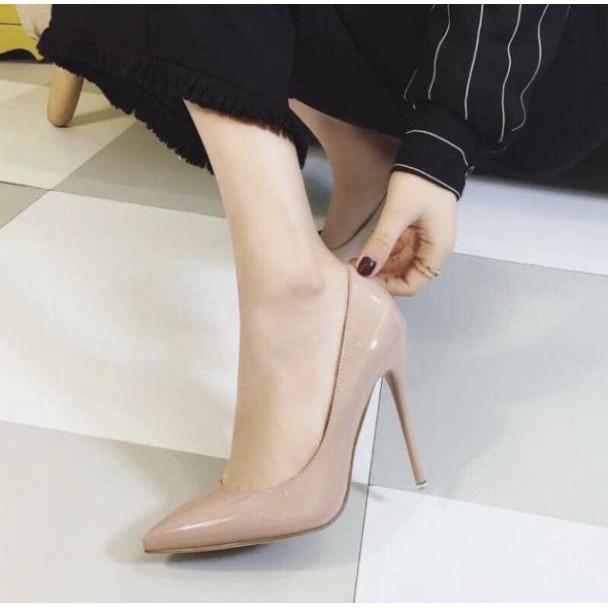 Giày Cao Gót 9P - Hàng VNXK - Sang chảnh Quý Phái - 4 màu full size 34-40