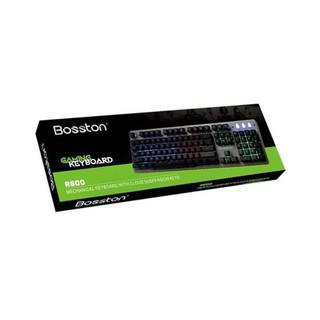 Bàn phím giả cơ đỉnh cao chuyên game Bosston R600 (KB cao cấp cực êm)