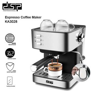 Máy pha cà phê đa năng KA3028.Thương hiệu cao cấp DSP - Hàng Chính Hãng