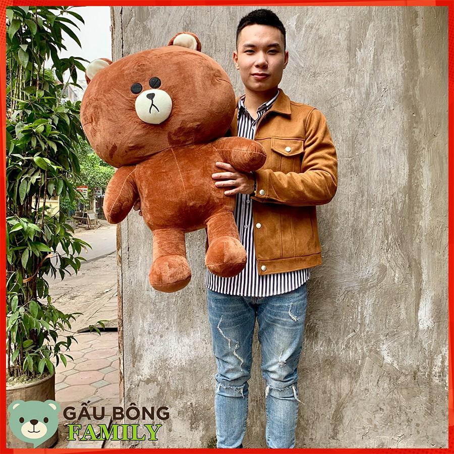 Gấu bông brown 1m2 khổ cao 1m