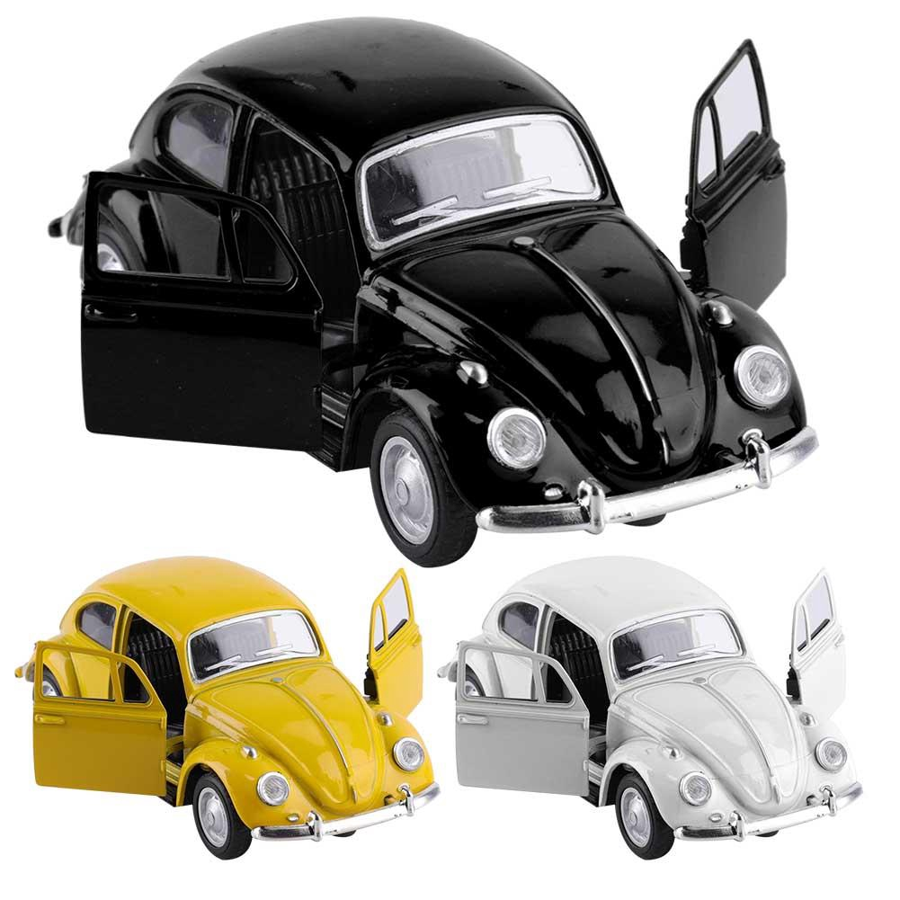Punkstyle Simulation Alloy Vintage Pull Back Car Model Vehicle Kids Children Educational Toys