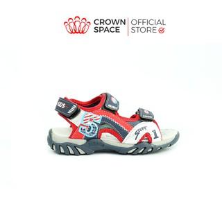 Dép Quai Hậu Sandal Bé Trai Crown UK Cruk523 Nhẹ Êm Size 26-35 2-14 Tuổi thumbnail