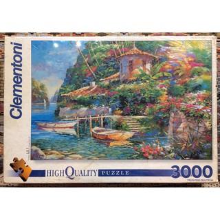 """(Có sẵn) Tranh ghép hình 3000 mảnh """"Bay of romance"""", Clementoni"""