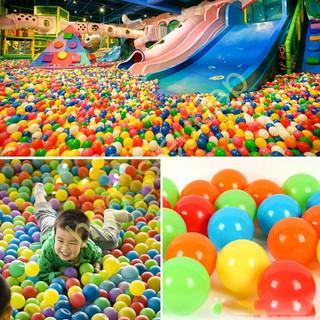 [GIÁ TỐT]Combo 150 quả bóng nhựa nhiều màu cho bé vui chơi loại tốt -hgd_sieudep