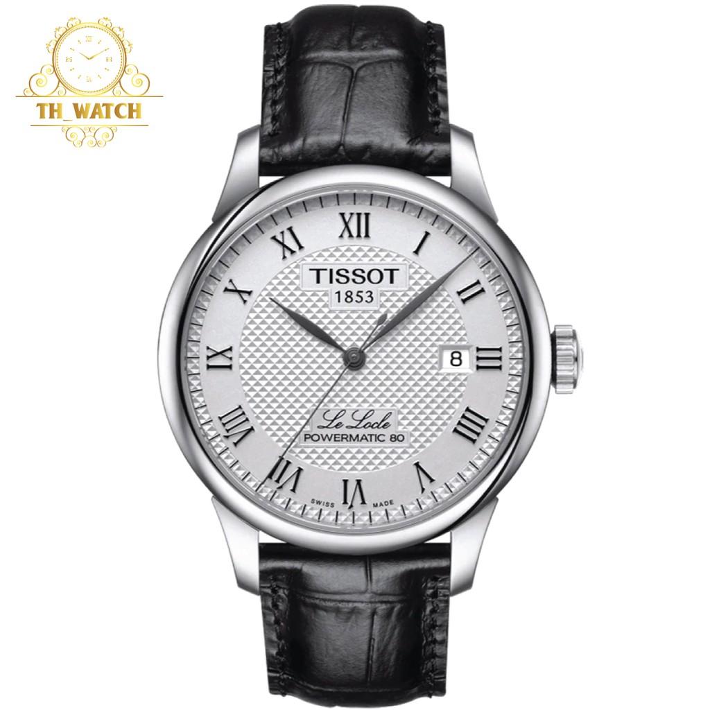 Đồng hồ Tissot Nam 1853 automatic LE LOCLE POWERMATIC 80, kính shapphire T006.407.16.033.00