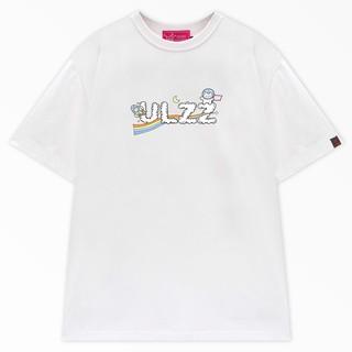 Hình ảnh [Mã WABR2291 giảm 10% đơn 99k] Áo thun local brand ULZZ ulzzang cloud astronaut dáng unisex tay lỡ - white fullbox-3
