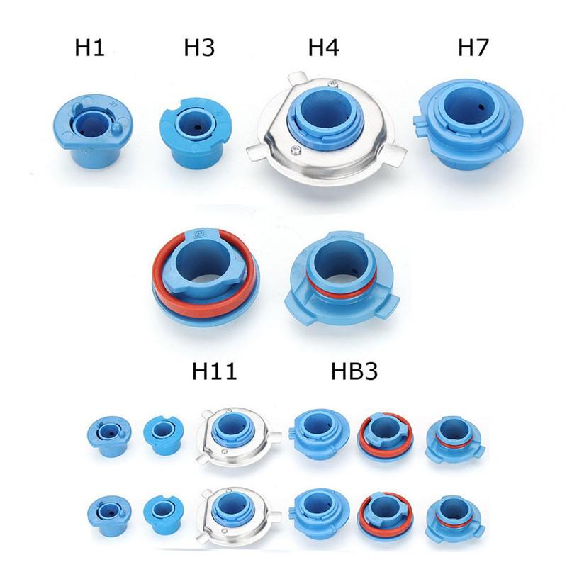 Set 2 Đế Giữ Đèn Pha H1 / H3 / H4 / H7 / H11 / Hb3