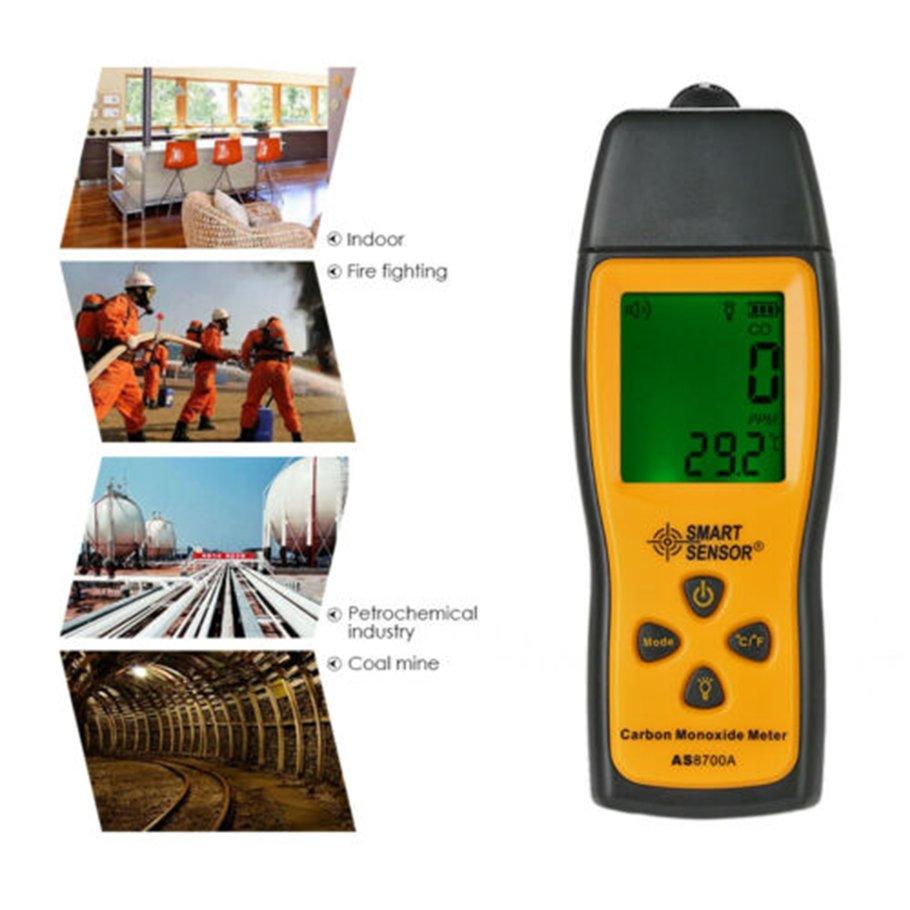 【SYH】Carbon Monoxide Gas Detector Portable Gas Concentration Detection Alarm