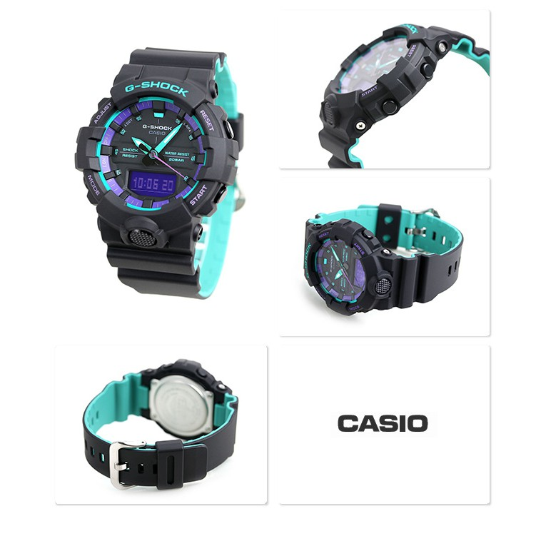 [Mã FABRR5503 giảm 20% đơn 249K] Đồng Hồ Casio Nam Dây Nhựa G-SHOCK GA-800BL-1ADR Chính Hãng