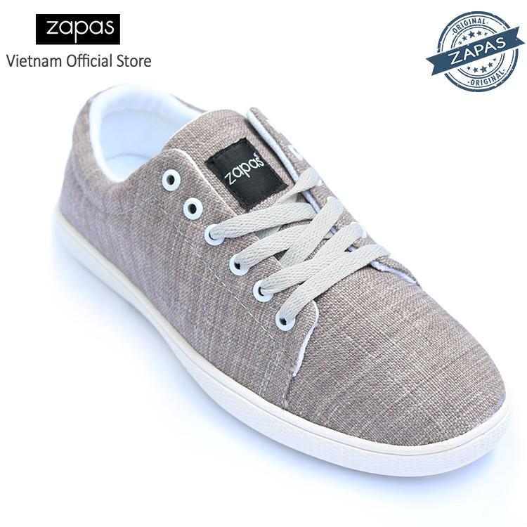 [Freeship] - Giày Sneaker Zapas Classcial GZ009 (Xám) - Hãng Phân Phối Chính Thức
