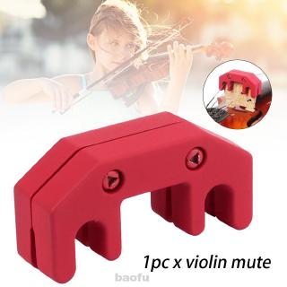 Silicone Fiddle Portable Accessories Professional String Instrument Reduce Volume Quiet Practice Violin Mute