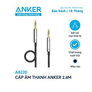 Cáp âm thanh ANKER dài 2.4m - A8220