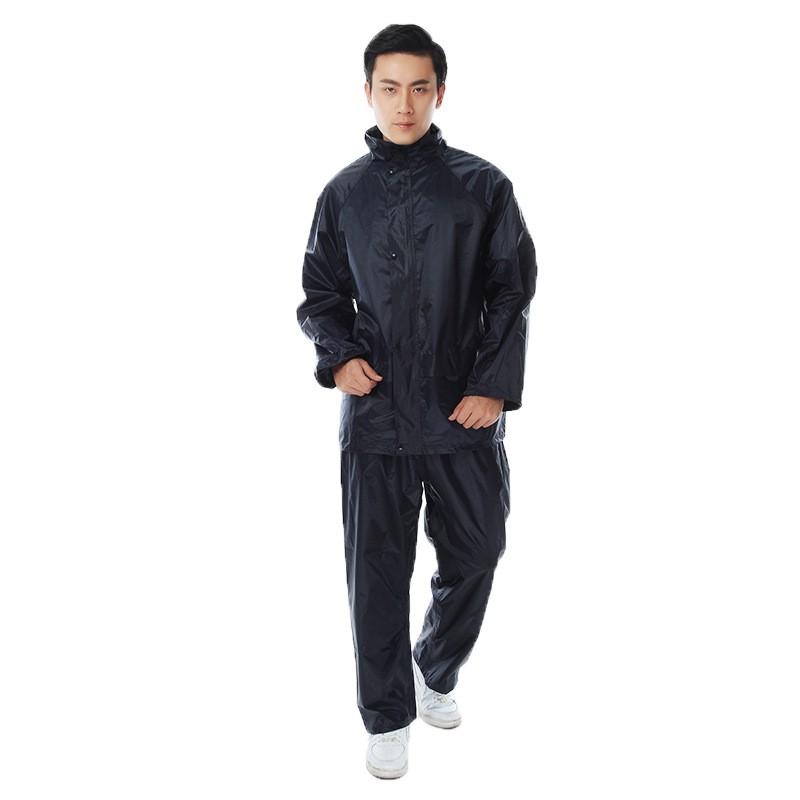 Áo mưa bộ Vải Dù siêu nhẹ chống thấm