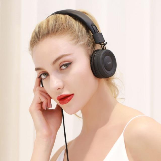 Tai nghe chụp tai remax RM-805 chính hãng - Tai nghe có mic tiện nghe nhạc đàm thoại