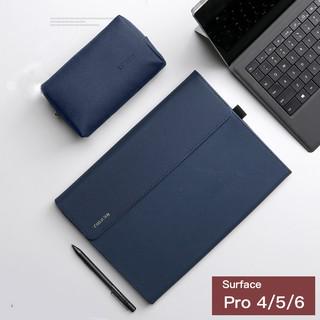 Bao da cao cấp Surface Pro 4,Pro 5,Pro 6, Pro 7 hiệu Taikesen + Túi phụ kiện