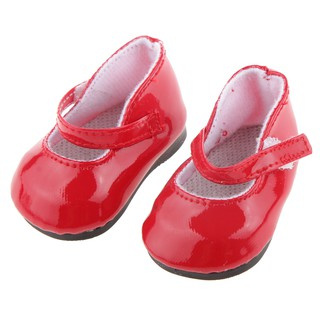Red Shoes for American Dolls