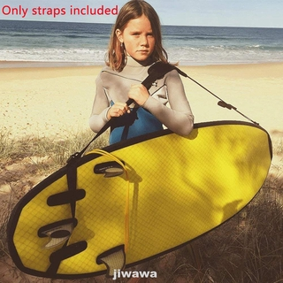 Adjustable Soft Nylon Accessories Anti Slip Carrying Water Sports Surfboard Shoulder Strap