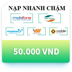 thẻ nạp viettel vina mobi vietnamobile gmobile 50k nạp nhanh chậm - 3495474 , 959124962 , 322_959124962 , 50000 , the-nap-viettel-vina-mobi-vietnamobile-gmobile-50k-nap-nhanh-cham-322_959124962 , shopee.vn , thẻ nạp viettel vina mobi vietnamobile gmobile 50k nạp nhanh chậm