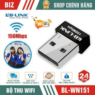 USB thu wifi LB-LINK BL-WN151 Hàng chính hãng – Bảo hành 24 tháng !!!