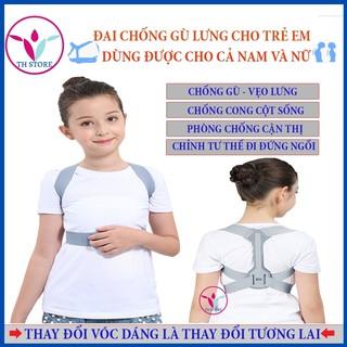 [Hàng chính hãng] Đai chống xóa gù vẹo lưng dành cho trẻ em – thay đổi ngoại hình là thay đổi tương lai con bạn