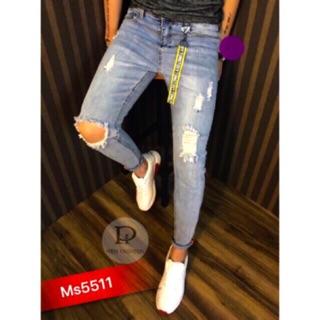 Quần Jean nam XB chuẩn phong cách model 2018