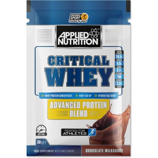 Whey Protein gói Critical Whey (1 LẦN DÙNG) – Applied Nutrition – Whey Hydro + Whey Isolate + Whey Concentrate