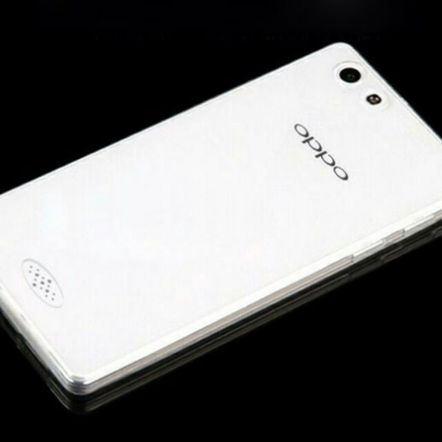 Ốp oppo neo7(A33) silicon trong suốt