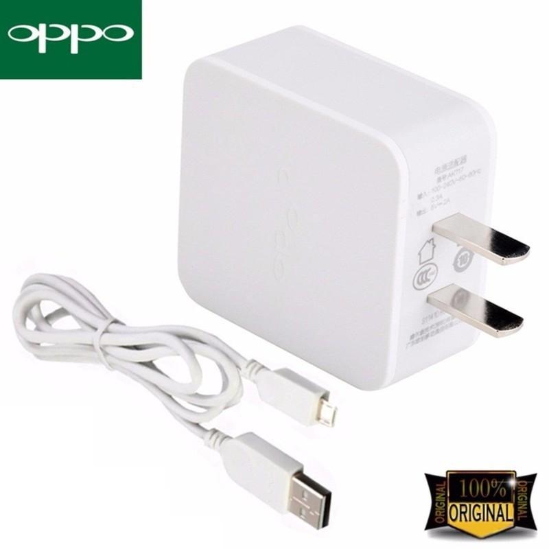 Cốc sạc Oppo 2A kèm cáp USB sạc