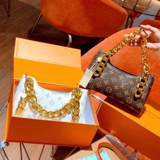 Túi kẹp nách dây xích thời trang hàn quốc - Túi xách nữ cao cấp