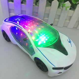 Đồ Chơi Siêu Xe Cảm Ứng Vật Thể Có Đèn Nháy 3D Và Phát Nhạc