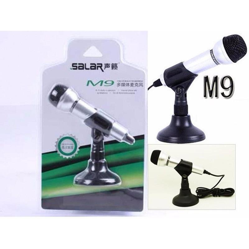 (miễn phí vận chuyển) Micro thu âm cho PC, laptop Salar M9 - 2912543 , 666939067 , 322_666939067 , 239000 , mien-phi-van-chuyen-Micro-thu-am-cho-PC-laptop-Salar-M9-322_666939067 , shopee.vn , (miễn phí vận chuyển) Micro thu âm cho PC, laptop Salar M9